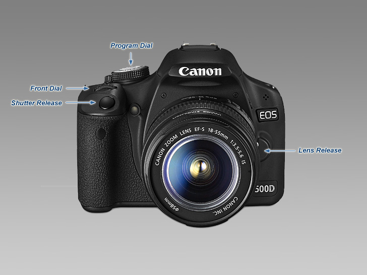 Canon EOS 500D (Rebel T1i) - Review / Test Report
