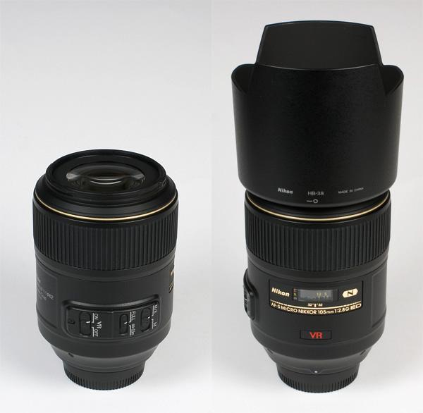 Image result for USED nikon af-s 105mm f/2.8g ed if vr micro lens
