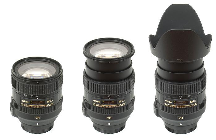 Nikkor AF-S 24-85mm f/3.5-4.5G ED VR (FX) - Review và đánh giá tổng quan