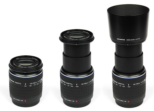 Olympus Digital Zuiko 40 150mm F 4 5 6 Ed Review Test Report