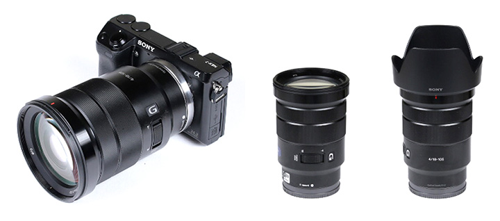 sony 18 105. sony e 18-105mm f/4 g oss. it is primarily marketed towards movie makers so we were a bit reluctant to have closer look. however, recently the lens 18 105 p